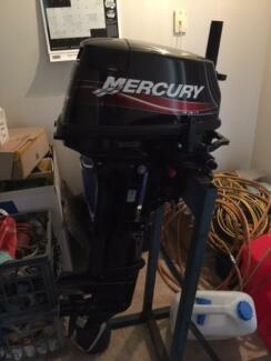 Mercury 15hp longshaft outboard motor