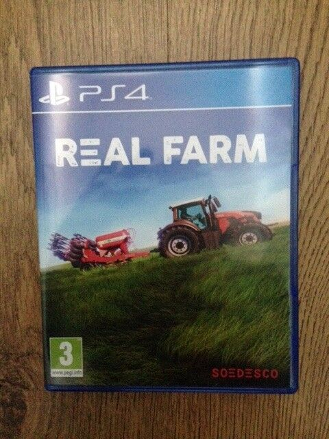 PS4 Real Farm Game