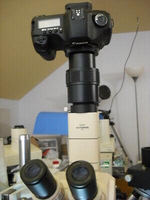 Olympus Sz Microscope 2 Canon Full Frame Camera Adapter Sz Pt 4045 4060 6045 114