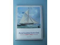 Royal London Yacht Club 1838-1988 Hardback Book 150th Cowes Isle of Wight