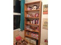 Tall bookshelve