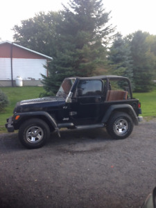 2002 Jeep TJ sport SUV, Crossover