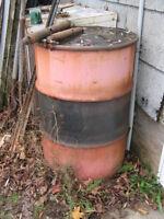 Barrel of grease