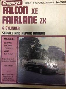 Falcon-Fairlane******1984 workshop manuel Essendon North Moonee Valley Preview