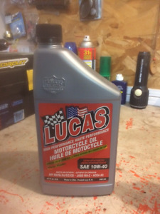 4L Lucas 10w40 oil , Team  Troy Lee approved !$20