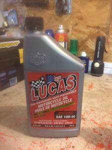 4L Lucas 10w40 oil , Team  Troy Lee approved !$24 obo