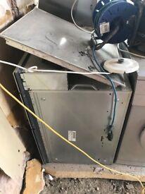 NEFF Ceramic Hob (x4 burner), NEFF Chimney Hood and NEFF Integrated Oven