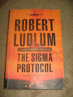 The Sigma Protocol by Robert Ludlum PB book political spy thriller      AD (Spy Sigma)