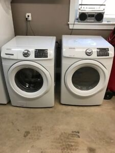 Samsung Stackable Washer and Dryer Used For Eight Months