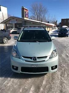 2006 MAZDA 5 GT 6 PASSAGER 180000 KM AIR CLIM MAG 1999