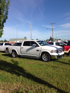 $23,500   2013 Dodge Longhorn Laramie c/w side boxes. Full load.