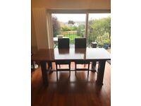 Lovely extendable dining table. Sits 6-8 when extended. £75. Pick up only.
