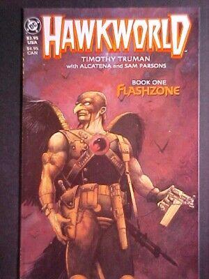 HAWKWORLD BOOK ONE! TIM TRUMAN! PRESTIGE FORMAT! 1989 DC COMICS