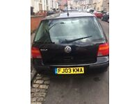 VW Golf 1.4 match good condition inside and out