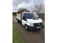 2008 Ford Transit LWB dropside truck with tail lift