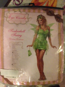 Women's Tinkerbell Costume - Size Small