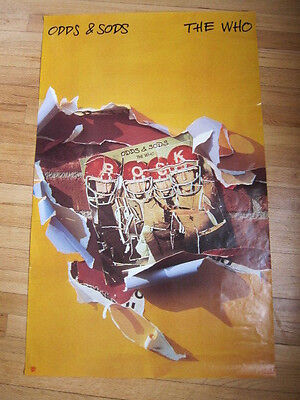 THE WHO Odds & Sods Promo poster 22x35 b