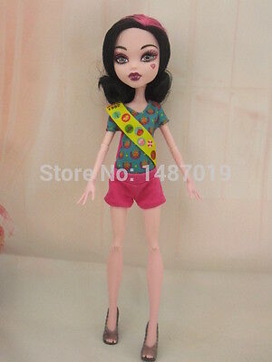 New Party Doll's Dress Clothes Coverall Set For monster high school doll