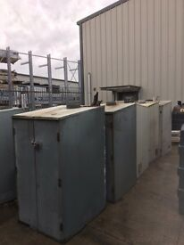 OIL TANKS AND BOILER HOUSES FOR SALE