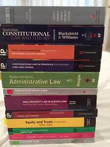 Law Text Books For Sale - Assorted - CHEAP - Excellent Condition Seventeen Mile Rocks Brisbane South West Preview