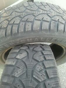 """Set of 4-195/65/15"""" Winter tires (Not studded)"""