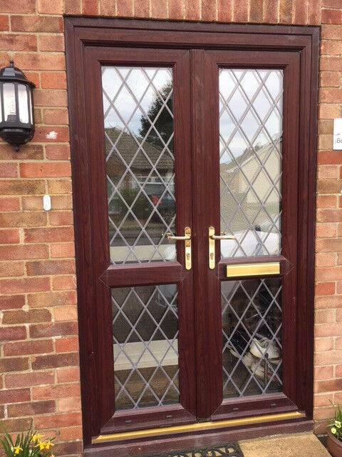 Brown French Doors In Kings Lynn Norfolk Gumtree
