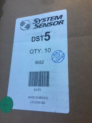 Case Of 10 Sampling Tube Smoke Detector System Sensor Dst5 New