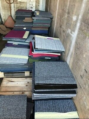 Carpet tiles brand new mixed seconds/faulty 40p each