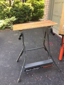 Workmate bench Black and Decker