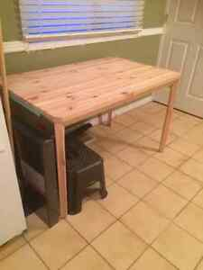 Ikea Solid Pine table