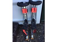 Running and Jumping Stilts as NEW