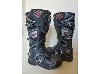 Motocross boots FOX COMP 5 size 7 / Eur 40.5 Excellent cond.