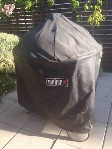 Weber Original Kettle Charcoal BBQ with cover and tool- used once Unley Unley Area Preview