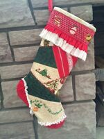 Creative Sewing Class - Christmas Heirloom Stocking