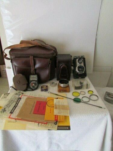 Vintage Ciroflex Film Camera Exposure Meter Filters & Extras