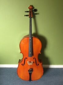 Cello 3/4 size - ideal first instrument for child