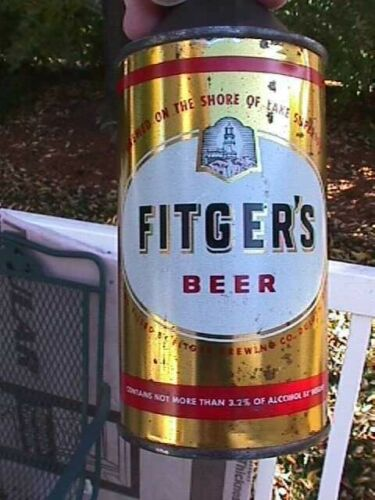 Fitger 3.2% cone top beer can  Duluth MN  Nice condition