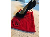 Size 5 Suede Christian Louboutin Heels