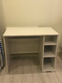 DESK FOR SALE - Great size with added storage and cable management