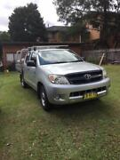 2007 Toyota SR Hilux Ute Dual Cab Five Dock Canada Bay Area Preview