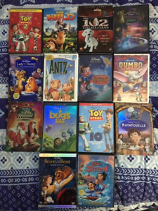 Disney Movies (18), New Movies Added!! DVDs
