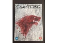 Games of Thrones on DVD (Series 1-7)