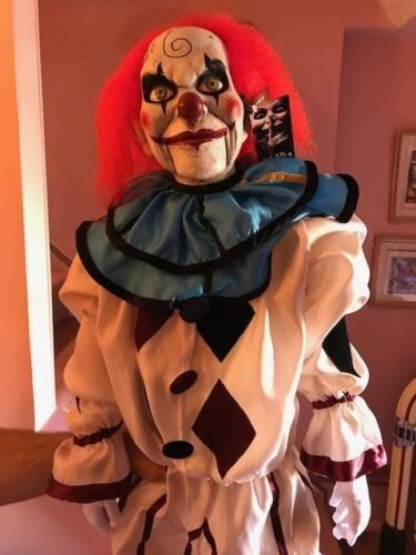 Halloween Dead Silence Mary Shaw Clown Puppet Prop TOT