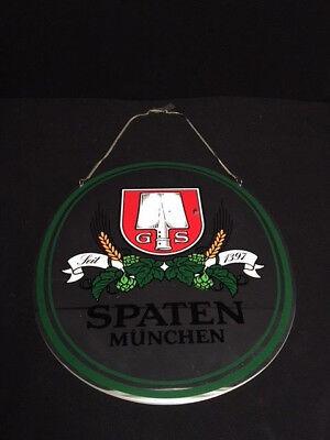 XXL-Zapfhahnschild Spaten München