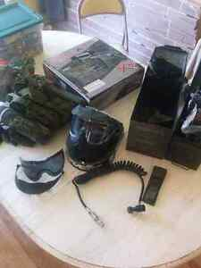 Kit paintball x7