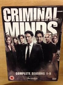 Criminal Minds DVD box set Seasons 1-9 51 discs