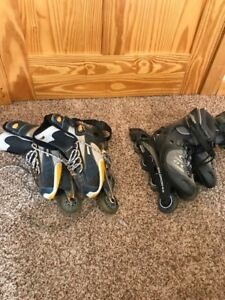 Roller Blades - Mens size 10.5, Women's size 9.5.  Like new!