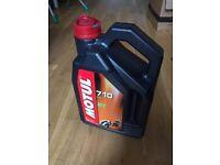 Motul 710 100% synthetic 2 stroke oil 2 Litre