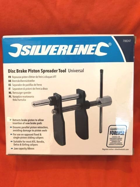 Silverline 708247 Separador de Pastillas de Freno Universal