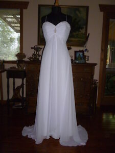 Wedding Dress with matching purse